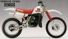 Image result for yamaha yz 2 stroke 70s