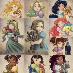 Haha The princess holding Hades..... So unwanted! lol