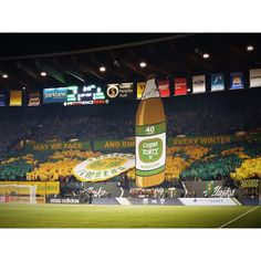 8by8mag:  The Timbers Army celebrated the Portland Timbers 40th anniversary last night with this great tifo. Photo by @lilsweatshirts.