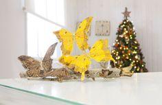 Con estas originales mariposas, acercarás la naturaleza a tu  hogar en la época navideña - Leroy Merlin