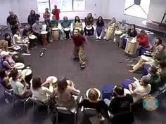 Good drum circle lesson.  I saw him teach this same lesson at a workshop a few years ago- he was bald then.