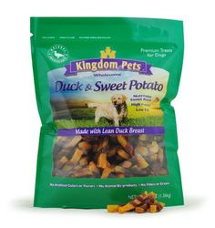 Kingdom Pets Premium Dog Treats, Duck and Sweet Potato Jerky Twists, 48 Ounce *** Learn more by visiting the image link.