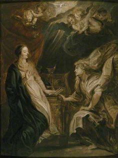 The Annunciation - Rubens, c. 1609