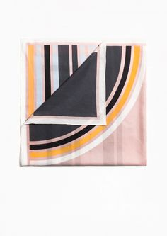 & Other Stories | Graphic Sunset Scarf