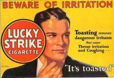 Lucky Strike Ad.
