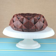 Chocolate Cinnamon Bundt Cake for I Like Big Bundts 2013