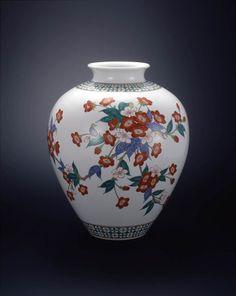 National Living Treasure of Japan, SAKAIDA Kakiemon 14th 十四代 酒井田 柿右衛門(人間国宝)