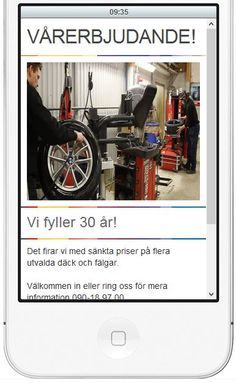 HB däck Umeå