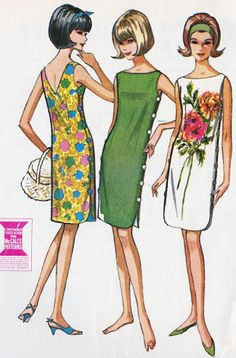 sixties fashion patterns ile ilgili görsel sonucu