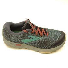 a1499817af9d1 Brooks Gray Blue PureGrit 7 US 8 EU 39 Running Trail Hiking Womens Shoes   Brooks  HikingShoes