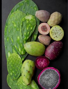 From the Kitchen: Ingredients – Cacti. Photo by Araceli Paz. From Enrique Olvera's Mexico From the Inside Out