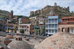 Old town in Tbilisi, Georgia (by imolcho).