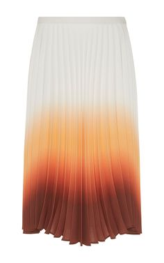 J.W. Anderson Ombre Pleated Skirt