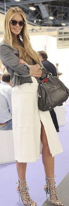 Wow! Diese Sandaletten in Schwarz-Weiß von Elle MacPherson sind der absolute Hingucker #sandals #blackwhite #ellemacpherson