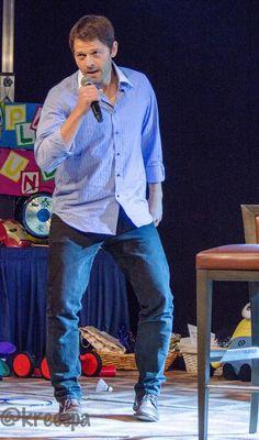Misha imitating Jensen LOL #Jibcon6 #JIB6 credits by @kreespa