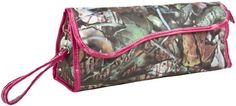 Tree Camouflage Print Insulated Curling Iron Bag with Hot Pink Trim, http://www.amazon.com/dp/B00C0XS9GW/ref=cm_sw_r_pi_awdl_wEbMsb1REWG24