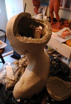 portrait-sculpture.com :: View topic - Traditional ceramic bust demonstration