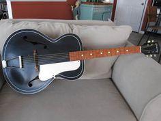 Kay Silvertone archtop guitar.