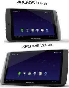 Archos G9 tablets enter the US market