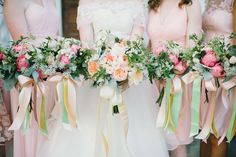 Satin bouquet ribbons are getting more and more popular! #rsvpweddingmanager http://www.rsvpweddingmanager.com/
