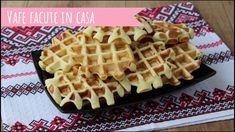 Vafe pufoase facute in casa. Gata in 30 de minute! Waffles, Breakfast, Recipes, Food, Sweet, Morning Coffee, Recipies, Essen, Waffle