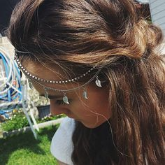 Top 100 fancy hairstyles photos #hair #hairjewellery #headchain #hairstyling #hairspray #crownbraid #braids #back #head #beautiful #cheekbones #lovisa #jewelrey #brownhair #fancyhairstyles #covergirl #weddinghair See more http://wumann.com/top-100-fancy-hairstyles-photos/