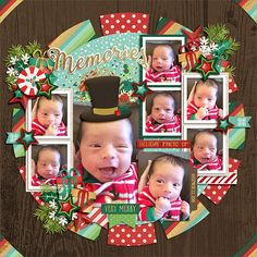 Cindy's Templates - Sequentials 5 to 8: Set 9 by Cindy Schneider | #believeinmagic: Magical Christmas Collection by Amber Shaw & Studio Flergs