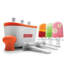 Zoku Quick Pop Maker w/Recipe Book & Tool Kit. Starting at $1 on Tophatter.com!