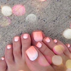 Best Nail Polish Colors of 2020 for a Trendy Manicure Pretty Toe Nails, Cute Toe Nails, Fun Nails, Cruise Nails, Vacation Nails, Gel Toe Nails, Toe Nail Art, Coral Toe Nails, Toe Nail Color