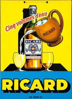 Ricard pastis ad