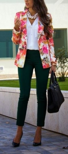 Bring Your Office Wardrobe Into Full Bloom With These Spring-Ready Floral Blazers