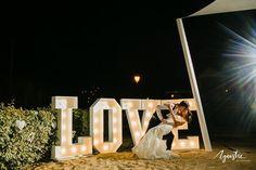 Praia da luz beach wedding. Algarve Love Letters for hire. Algarve beach wedding. www.algarveweddingsbyrebecca.com