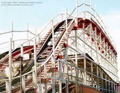 Giant Dipper, Santa cruz boardwalk, CA The 1st roller coaster i ever road!!