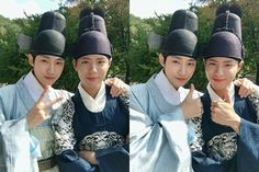 Park Bo Gum and Jin Young, Moonlight Drawn By Clouds bts