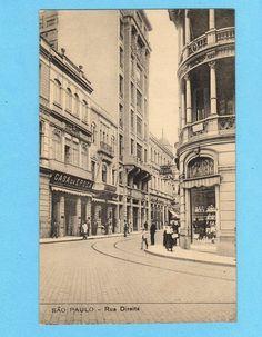 Old Postcard Sao Paulo Dolls Store Casa Da Epoca Brasil Brazil Editor Malusardi   eBay