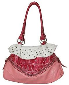 Brand New Stud & Chain Pink Bag Purse Free Shipping Purses And Bags, Brand New, Handbags, Free Shipping, Chain, My Favorite Things, Pink, Shoes, Style