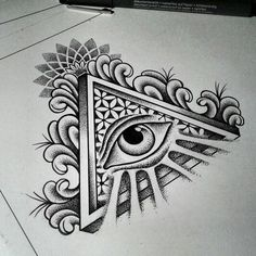 Eye Tattoo Illuminati Tat 40 Ideas For 2019 Tattoo Drawings, Body Art Tattoos, Small Tattoos, Tattoos For Guys, Cool Tattoos, Tatoos, Chest Piece Tattoos, Chest Tattoo, Arm Tattoo