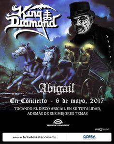 ROCK Y METAL MI PASION METAL NEWS : KING DIAMOND VISITA MEXICO POR PRIMERA VEZ