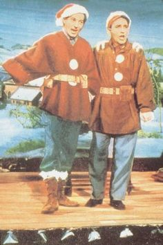 Danny Kaye and Bing Crosby - White Christmas - one of my absolute favorite Christmas movies!!