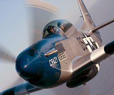 Fairbanks WWII veteran flies iconic Mustang — War History Online, jet, flying, high in the sky Ww2 Aircraft, Fighter Aircraft, Military Aircraft, Fighter Jets, P51 Mustang, Ww2 Planes, Jet Plane, Nose Art, Wwii