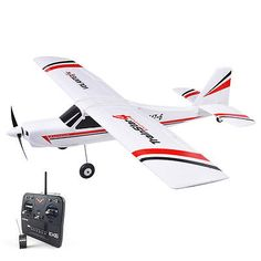 ﹩179.99. Volantex TrainStar Ex RC RTF Plane Model W/ Brushless Motor Servo ESC Battery   Fuel Type - Electric, Required Assembly - RTF, Type - Plane model, State of Assembly - Ready To Fly, Gender - Boys  Girls,