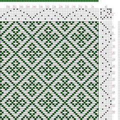Hand Weaving Draft: Page 134, Figure 42, Donat, Franz Large Book of Textile Patterns, 7S, 7T - Handweaving.net Hand Weaving and Draft Archiv...: