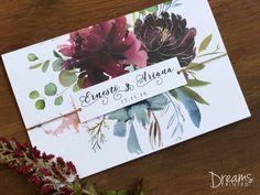 Invitación floral colores fascinantes #wedding #weddinginvitations #invitations #vintage #vintagewedding #floralwedding #floralinvitation #love #invitacion #invitaciondeboda #invitacionvintage #invitacionfloral