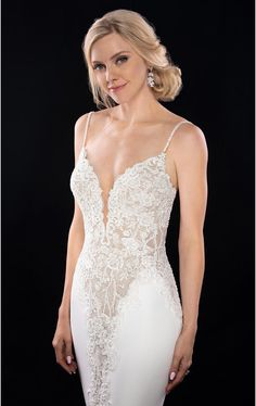 1004 Sexy Wedding Dress with Shaped Cutouts by Martina Liana. Bridal Gown Available at The Wedding Studio Greenwood Wedding Dress Quiz, Spring 2017 Wedding Dresses, Lace Wedding Dress, Sexy Wedding Dresses, Wedding Dress Shopping, Wedding Dress Styles, Designer Wedding Dresses, Wedding Gowns, Wedding Blog