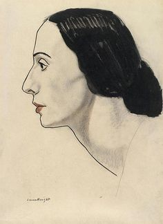 Dame Laura Knight (English, 1877 – 1970) - Portrait of Anna Pavlova
