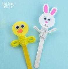 20 Easy and Fun Easter Crafts for Kids - Alina V Design