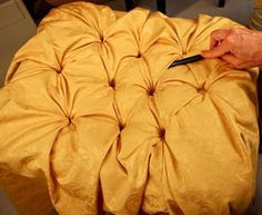Diamond Tufting Tutorial by someone who teaches others to do this for a living | ModHomeEc