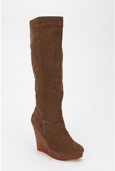 Cooperative Suede Wedge Boots. I have these in black. love em