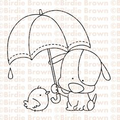 Items similar to Digital Stamp -- Friends -Puppy & Chick on Etsy Hand Applique, Applique Patterns, Embroidery Applique, Cross Stitch Embroidery, Creation Art, Sewing Appliques, Hand Embroidery Designs, Digi Stamps, Easy Drawings