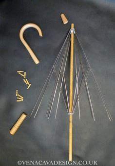 Parasol Kit - Adult. Frame and instructions to make your own custom parasol.